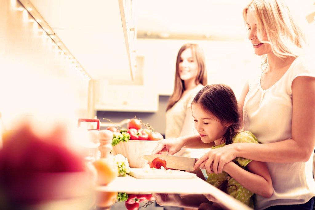 sicurezza dei bambini con i coltelli