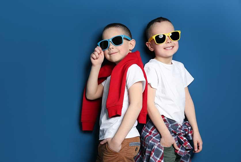 Occhiali da sole per bambini da 0 a 10 anni